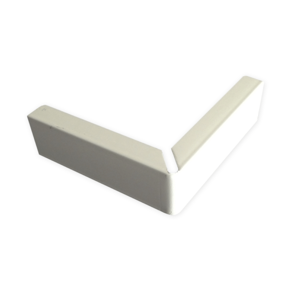 External Corner Cover White The Gallery Lighting System Free Delivery
