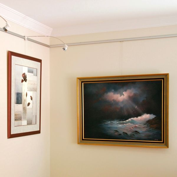 Picture hanging system - The Gallery System